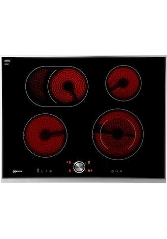 NEFF Elektro-Kochfeld von SCHOTT CERAN® »T17TT76N1«, T17TT76N1, mit TwistPad® Bedienung kaufen