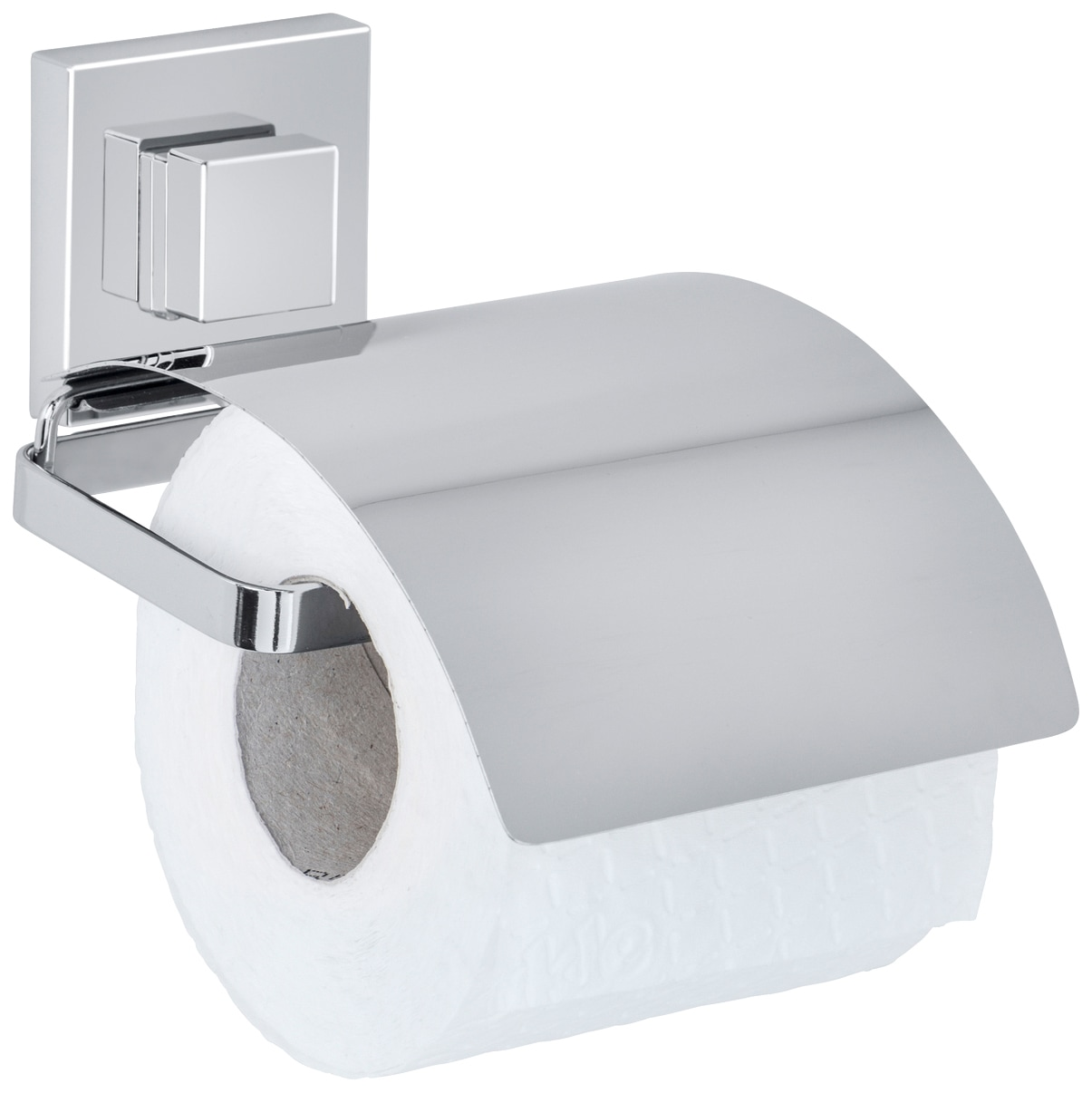 WENKO Toilettenpapierhalter »Vacuum-Loc Quadro«, Befestigen ohne bohren | Bad > Bad-Accessoires > Toilettenpapierhalter | Wenko