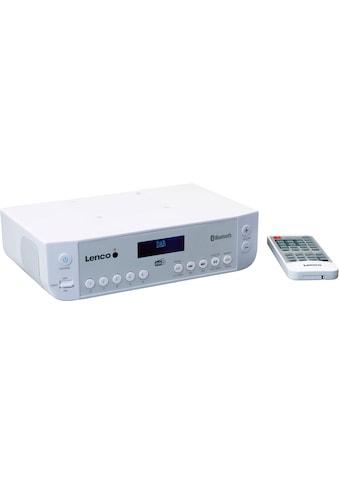 Lenco Küchen-Radio »KCR-200«, (Bluetooth Digitalradio (DAB+)-FM-Tuner mit RDS ) kaufen