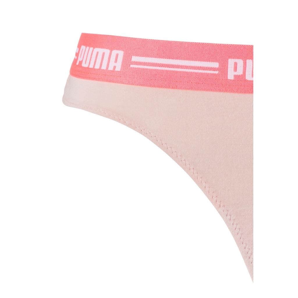 PUMA String »Iconic«, (2 St.), mit weichem Logobündchen