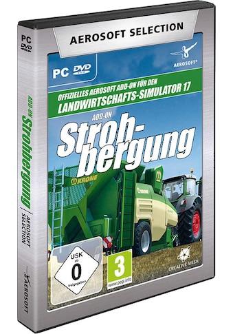 aerosoft Spiel »Aerosoft Selection - LS17 Add-on Strohbergung«, PC kaufen