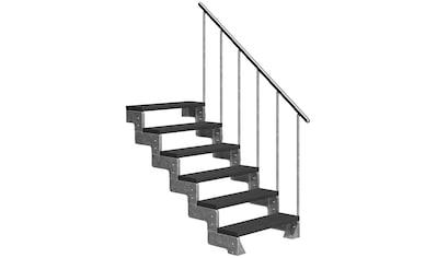 DOLLE Außentreppe »Gardentop«, für Geschosshöhen bis 132 cm, TRIMAX® - Stufen 100 cm kaufen