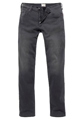 MUSTANG 5-Pocket-Jeans »WASHINGTON«, mit Abriebeffekten kaufen