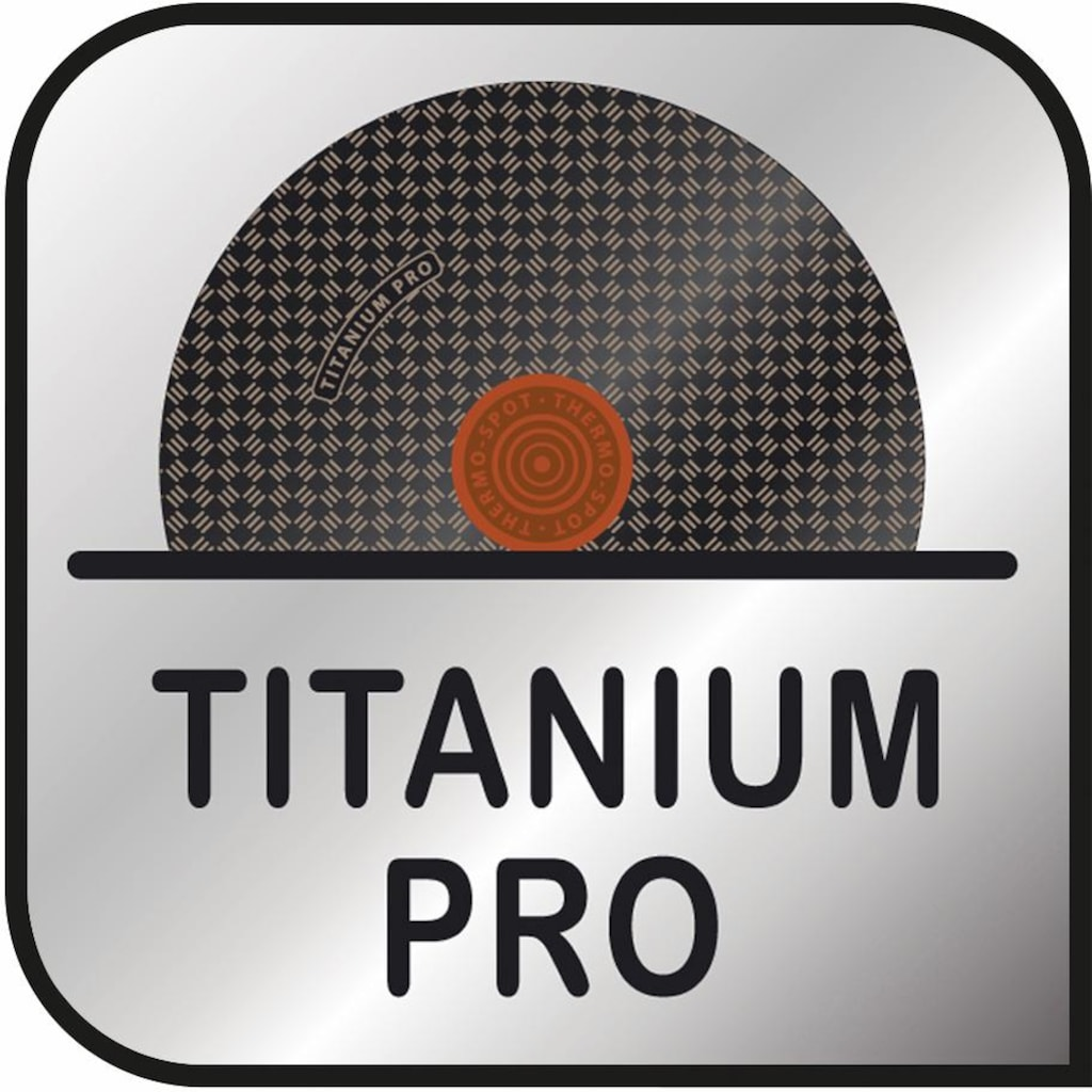 Tefal Bratpfanne »Premium Aluguss Induction Wave«, Aluminiumguss, (1 tlg.), Induktion