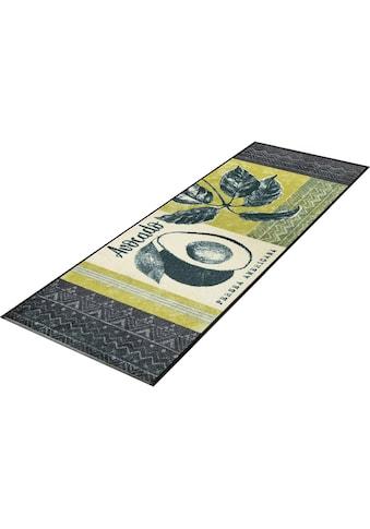 Küchenläufer, »Avocado«, wash+dry by Kleen - Tex, rechteckig, Höhe 7 mm, gedruckt kaufen