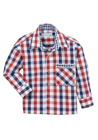 Isar - Trachten Trachtenhemd Kinder in Karooptik kaufen