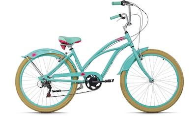KS Cycling Cruiser »Splash«, 6 Gang Shimano Tourney Schaltwerk, Kettenschaltung kaufen