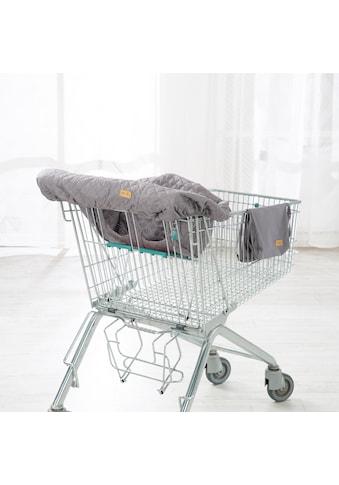 roba® Tragetuch »Style, anthrazit«, Einkaufswagenschutz inkl. Tragerucksack kaufen