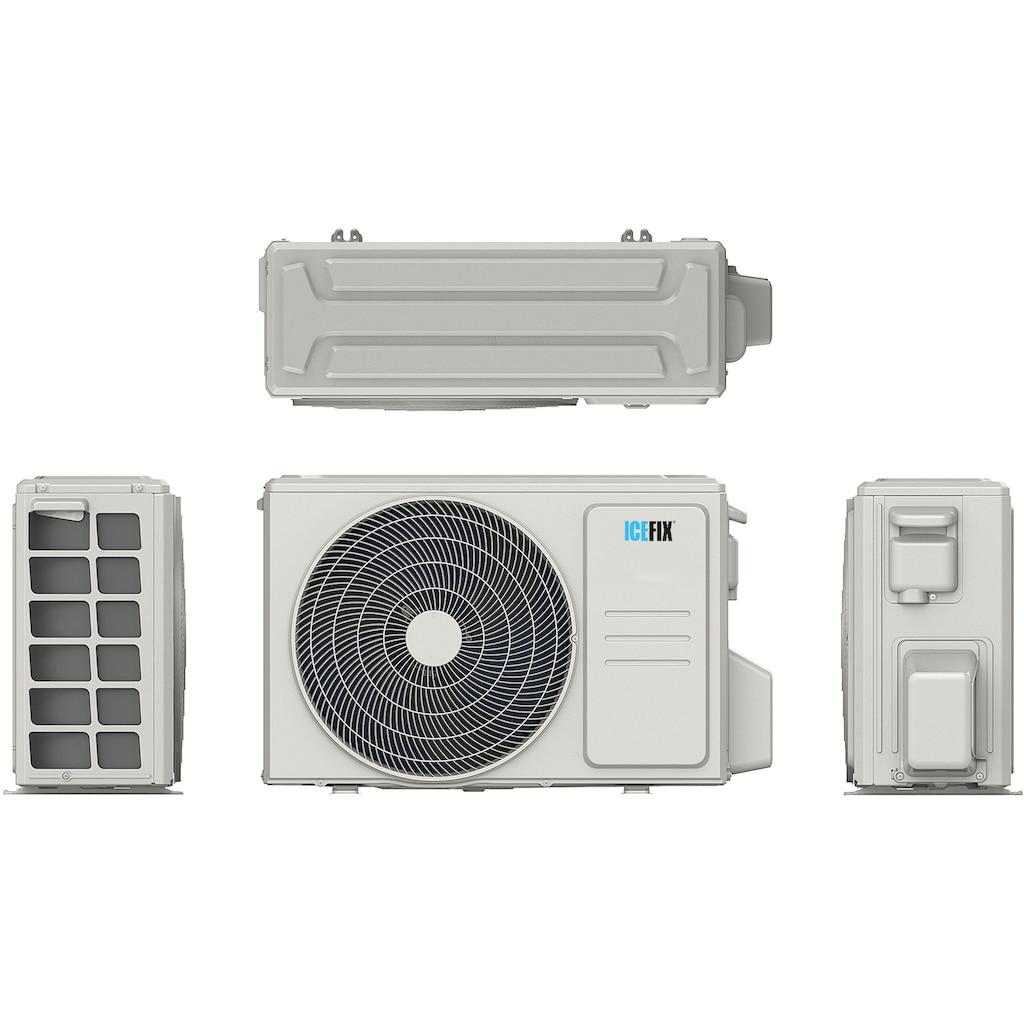 ICEFIX Split-Klimagerät »Icefix 1601 IU / Icefix 1601 OU«, bestehend aus Innen- und Außeneinheit Icefix 1601 IU/ Icefix 1601 OU, inkl. Montage