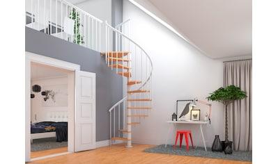 DOLLE Spindeltreppe »Montreal«, Ø: 120 cm, weiß kaufen