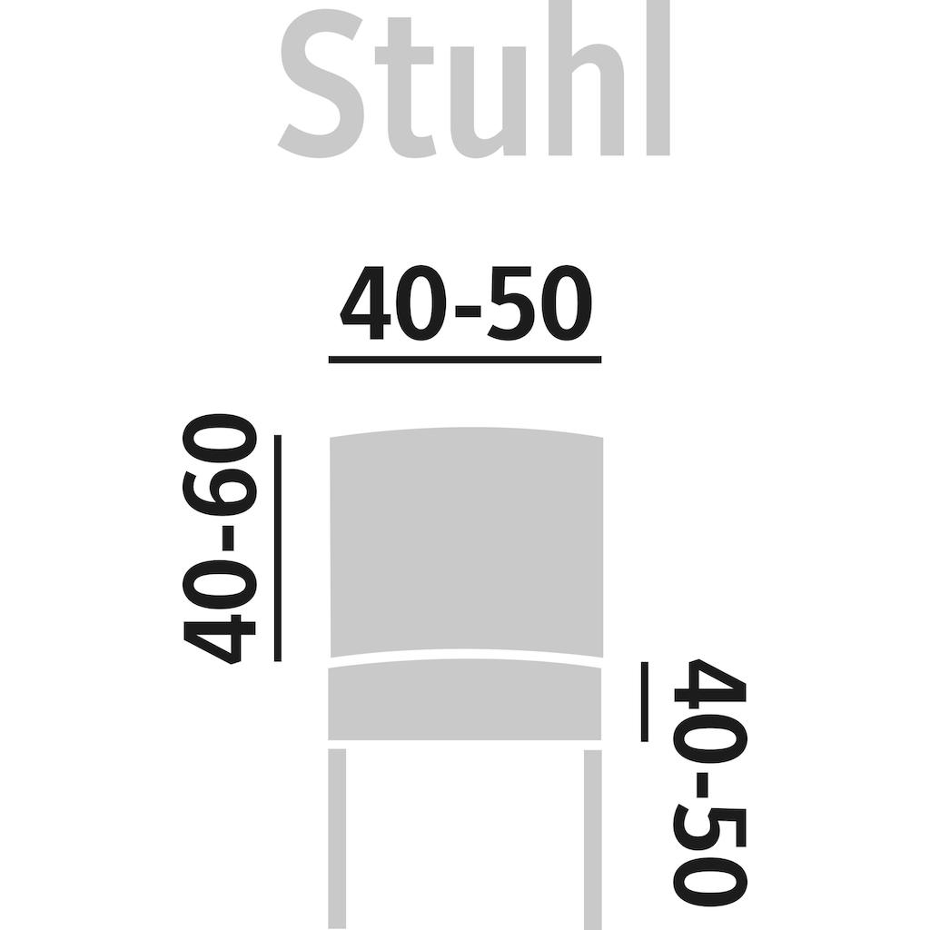 GAICO Stuhlhusse »Eleganza«, mit innovativer 3D-Struktur