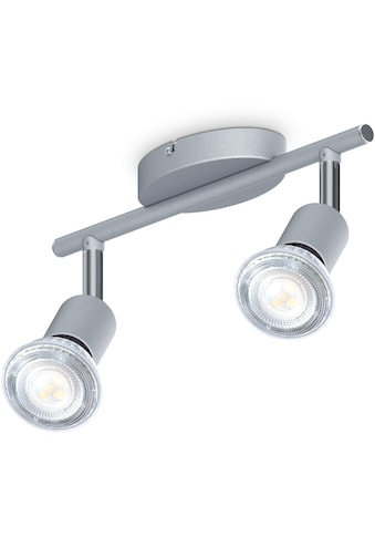 B.K.Licht Deckenleuchte, GU10, 1 St., 2-flammiger LED Deckenspot, 2x 5W Leuchtmittel... kaufen