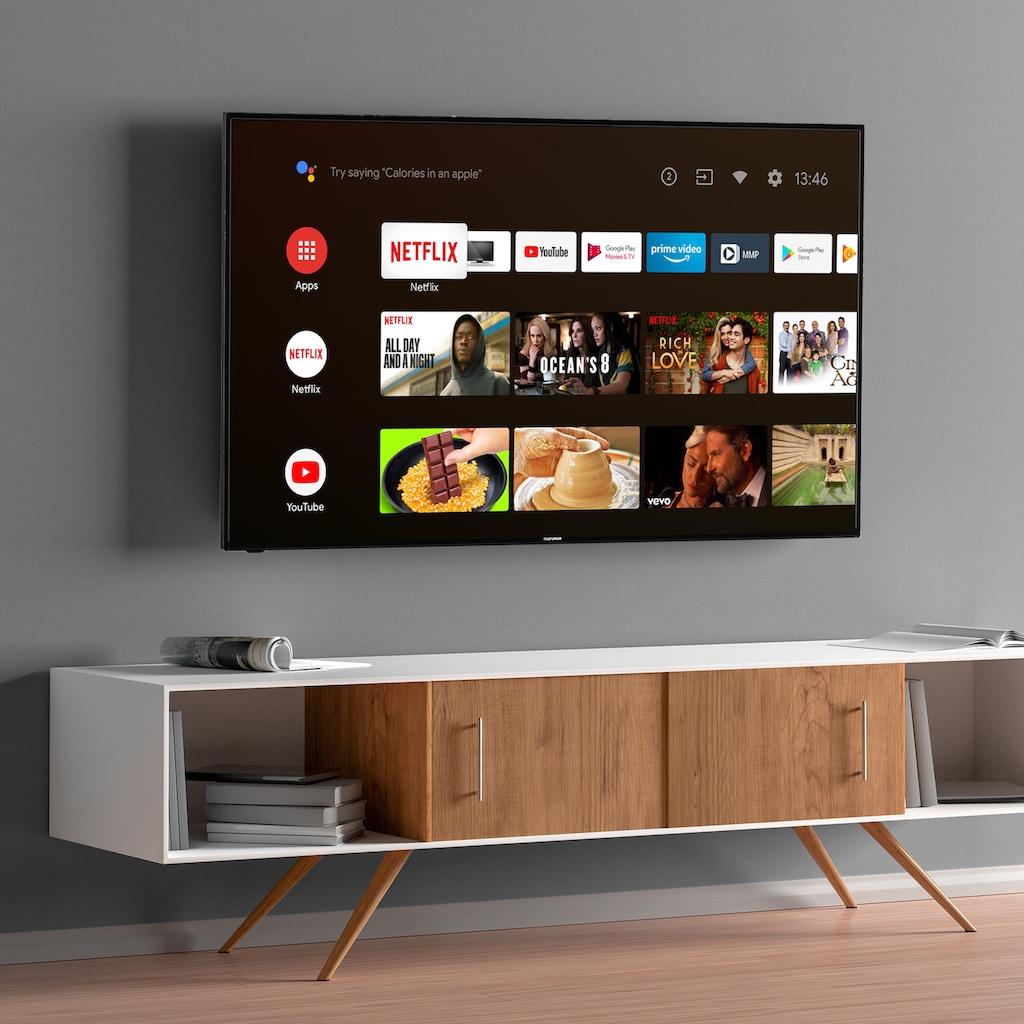 "Telefunken LED-Fernseher »XU55AJ600«, 139 cm/55 "", 4K Ultra HD, Smart-TV-Android TV"