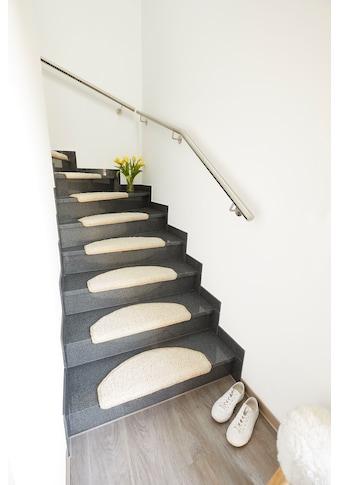Andiamo Stufenmatte »Shaggy«, rechteckig, 15 mm Höhe, große Farbauswahl, 15 Stück in... kaufen