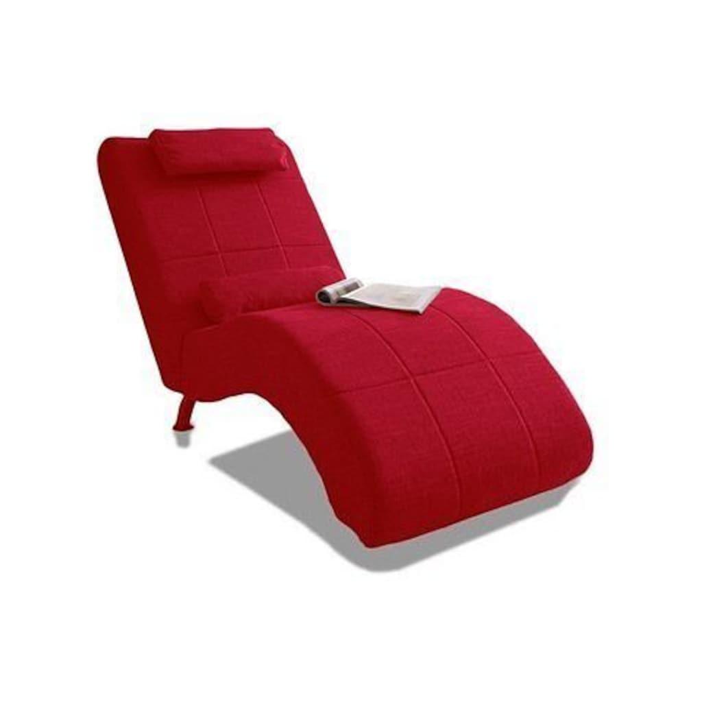 COLLECTION AB Relaxliege, in elegantem Design, frei im Raum stellbar