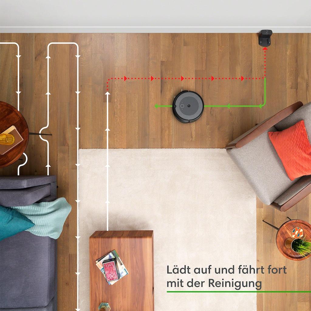iRobot Saugroboter »Roomba® i3 (i3152) WLAN-fähiger Saugroboter mit zwei Gummibürsten für alle Böden,«, ideal für Haustiere, individuelle Reinigungsvorschläge, Kompatibilität mit Sprachassistenten und Imprint®-Kopplungstechnik