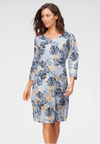 Cybèle Nachthemd, mit Blätterprint kaufen