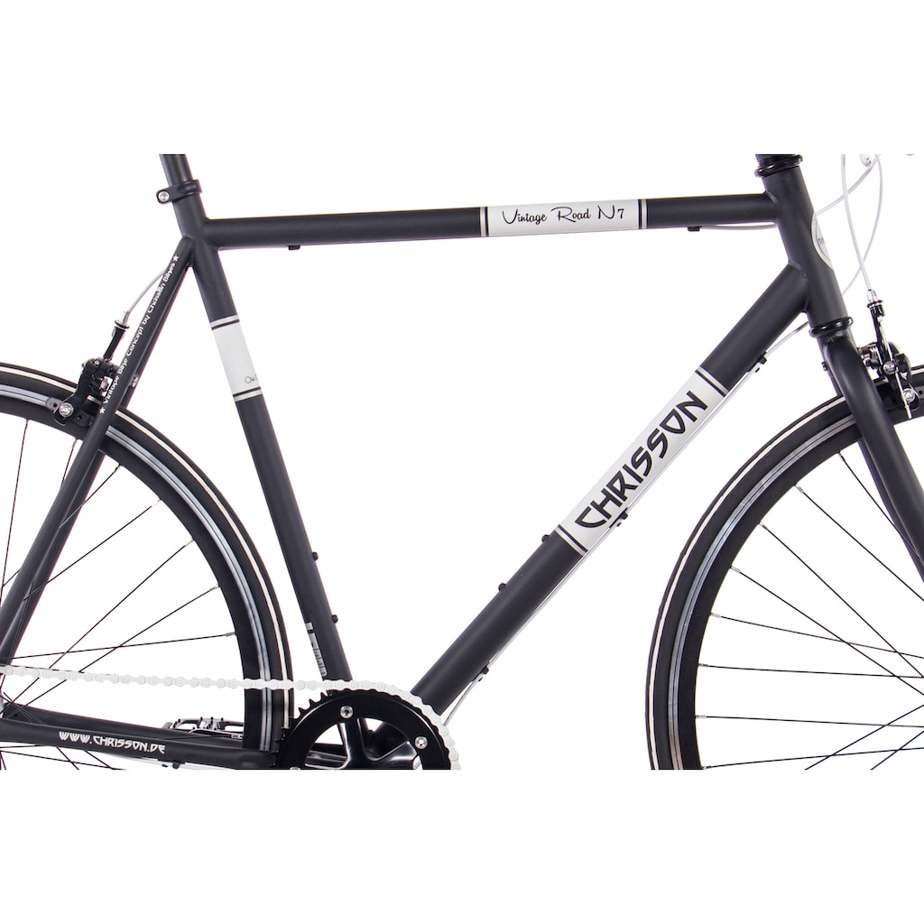 Chrisson Urbanbike »Vintage Road N7«, 7 Gang, Shimano, Nexus SG-7R42 Schaltwerk, Nabenschaltung