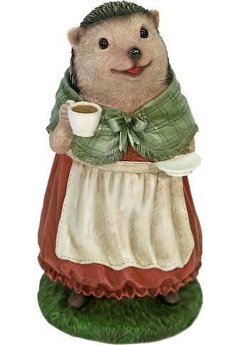 Home affaire Tierfigur »Frau Igel im Kleid trinkt Kaffee« kaufen