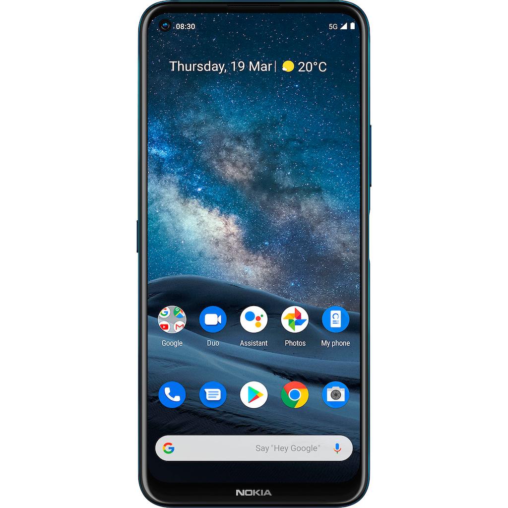 "Nokia Smartphone »Nokia 8.3 5G«, (17,3 cm/6,81 "", 128 GB Speicherplatz, 64 MP Kamera)"