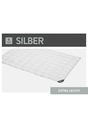 SPESSARTTRAUM Daunenbettdecke »Silber«, extraleicht, Füllung 100% Daunen, Bezug 100%... kaufen