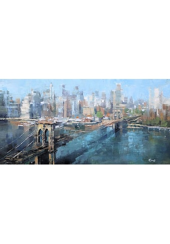 my home Kunstdruck »M. LAGUE / Brooklyn Bridge«, (1 St.) kaufen
