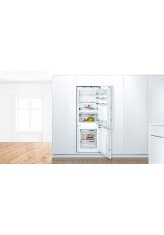 BOSCH Einbaukühlgefrierkombination »KIS77AFE0« kaufen