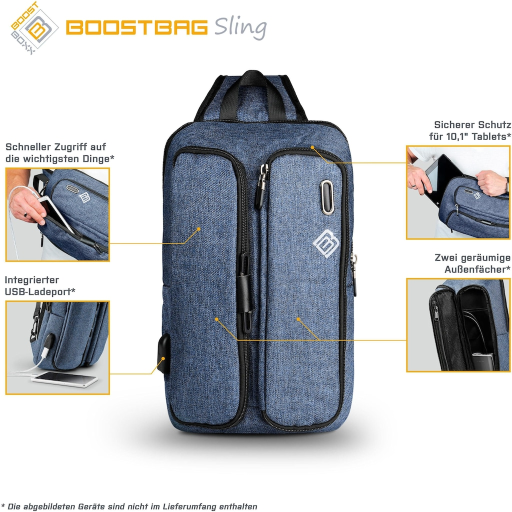 BoostBoxx Umhängetasche »Boostbag Sling Crossbag«