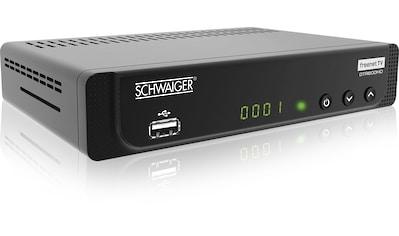 Schwaiger DVB-T2 HD Receiver mit Freenet TV, ÖR-Programme »Media Player, USB, EPG,... kaufen