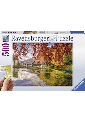 Ravensburger Puzzle »Mühle am Blautopf«, Made in Germany, FSC® - schützt Wald - weltweit kaufen