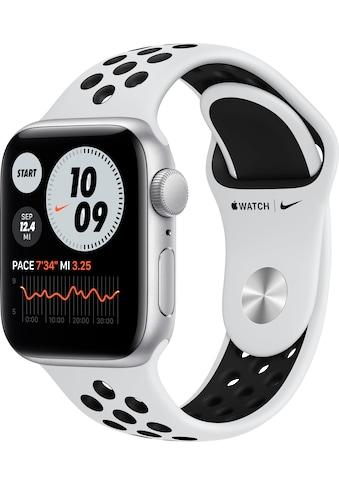 Apple Watch »Nike SE GPS, Aluminiumgehäuse mit Nike Sportarmband 40mm«, (Watch OS 6... kaufen