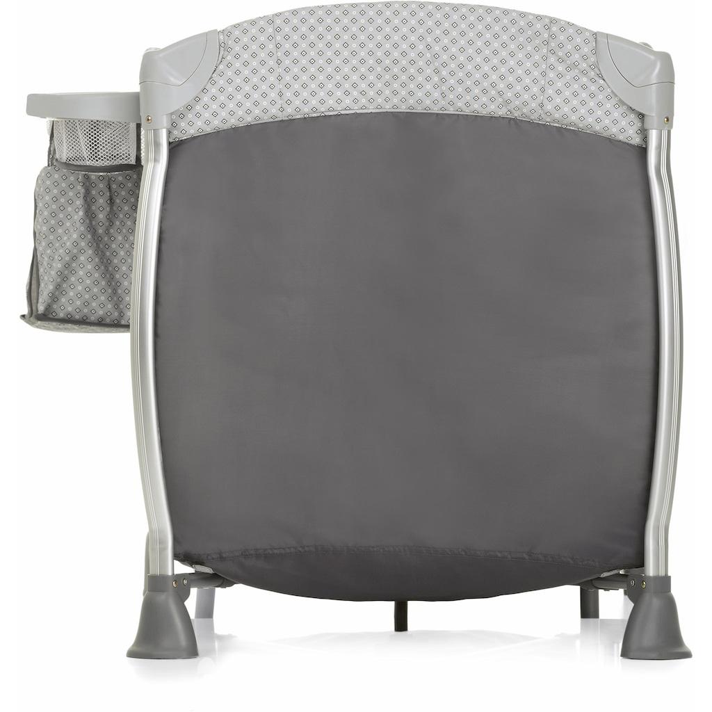 iCoo Baby-Reisebett »Starlight Diamond Grey«, inkl. Transporttasche