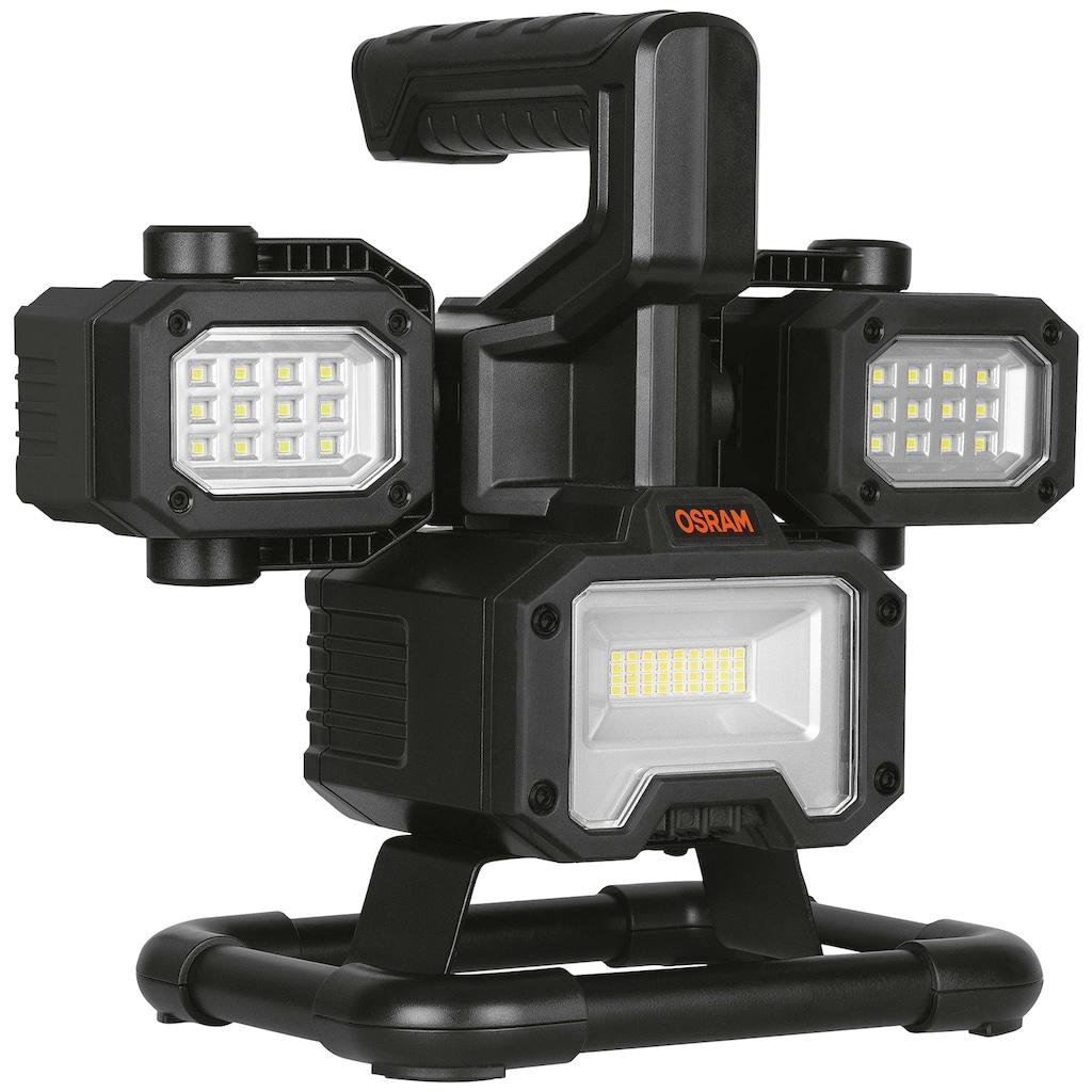 Osram LED Baustrahler, LED-Modul, Kaltweiß, 2000 Lumen, mit Akku
