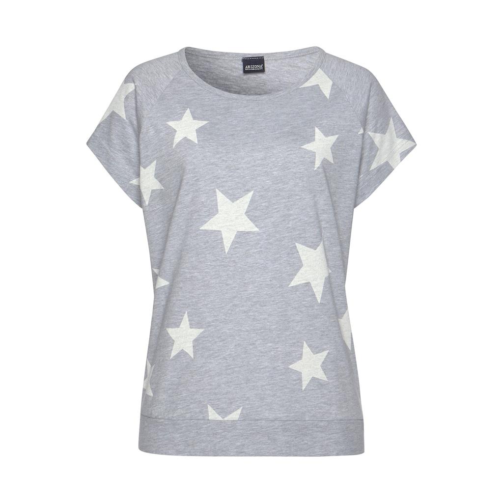 Arizona Shorty, (2 Stück), in melierter Optik mit Sternen