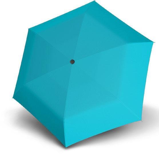 doppler®, Taschenregenschirm Fiber Havanna uni, Blue | Accessoires > Regenschirme > Sonstige Regenschirme | Blau | DOPPLER