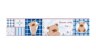 LIVINGWALLS Bordüre »Stick Ups Teddy«, für das Kinderzimmer, selbstklebend kaufen