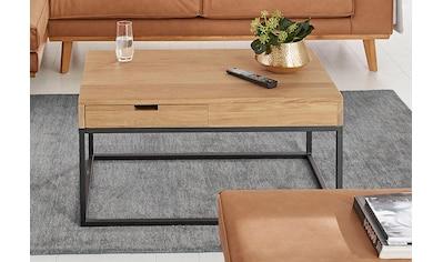 Guido Maria Kretschmer Home&Living Couchtisch »Rava«, in 2 Größen, aus massiver Eiche kaufen