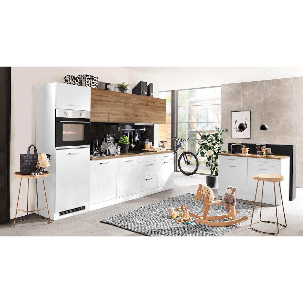 HELD MÖBEL Küchenzeile »Kehl«, mit E-Geräten, Breite 300 cm, wahlweise mit Induktionskochfeld