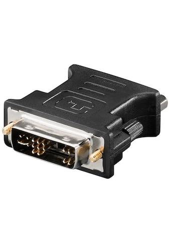 Goobay Analoger DVI - A/VGA Adapter »vergoldet« kaufen