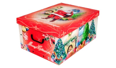 KREHER Aufbewahrungsbox »Weihnachtsmann« kaufen
