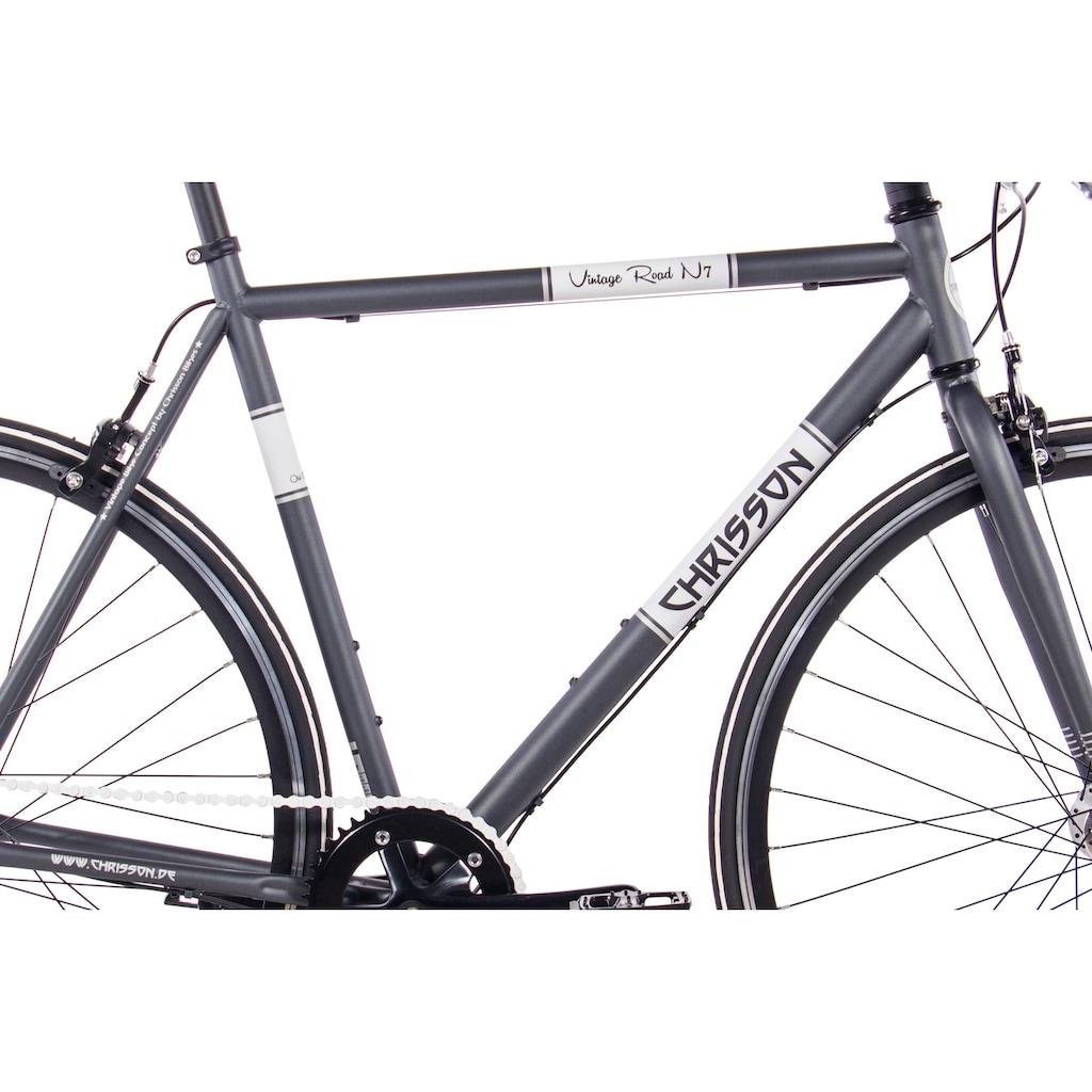Chrisson Urbanbike »Vintage Road N7«, 7 Gang, Shimano, Nexus SG-7R42 Schaltwerk, Nabenschaltung, (1 tlg.)