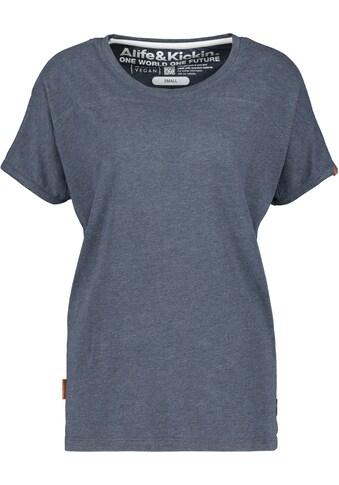 Alife & Kickin T-Shirt »DiniAK«, Basic-Shirt in Melange-Qualität kaufen