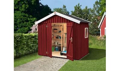 WEKA Gartenhaus »Schwedenhaus Gr.3«, BxT: 277x208 cm, inkl. Fußboden, in versch. Farben kaufen