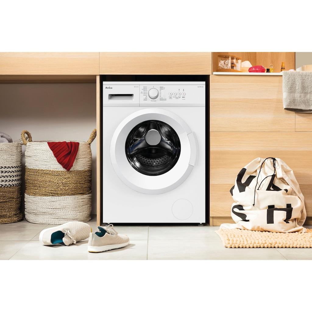 Amica Waschmaschine »WA 461 010«, WA 461 010 W, 6 kg, 1000 U/min