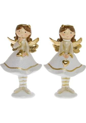 Engelfigur »Mit Herz« (Set, 2 Stück) kaufen