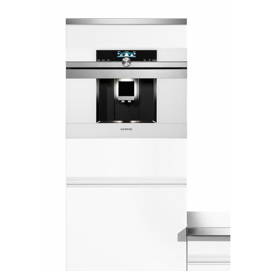 SIEMENS Einbau-Kaffeevollautomat »iQ700 CT636LEW1«