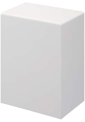 BODENMEISTER Set: Endkappe »Rohrabdeckleiste Weiß«, 2er - Pack (1x rechts, 1x links), Höhe: 10 cm kaufen