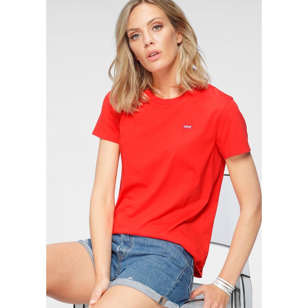 Levi's® T-Shirt »Perfect Tee«, mit kleiner Logostickerei