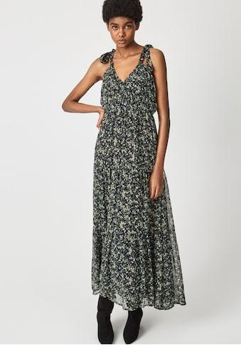 Pepe Jeans Sommerkleid »OLIVIA«, mit Trägern zum Binden und in Falten gelegtem... kaufen
