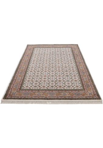 Woven Arts Orientteppich »Orientteppich Bidjar Herati«, rechteckig, 15 mm Höhe, handgeknüpft, Wohnzimmer, reine Wolle kaufen